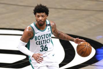 Marcus Smart avec les Celtics à long terme)
