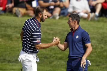 Retour du golf à la télé: McIlroy et Johnson joueront contre la COVID-19)