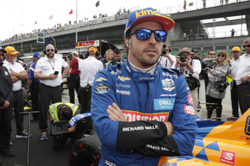 Alonso est confiant cette année à Indianapolis)