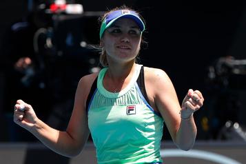 Australie: l'Américaine Sofia Kenin en demi-finale