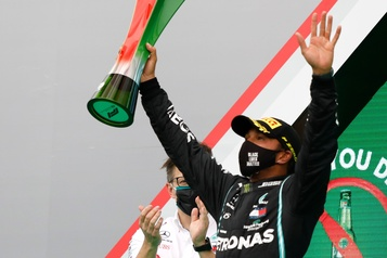 Grand Prix du Portugal Un autre record pour Hamilton)