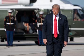 Trump annule son week-end dans le New Jersey, pour faire régner «l'ordre»)