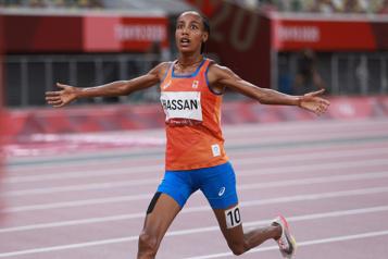 Athlétisme Sifan Hassan championne olympique du 5000m)