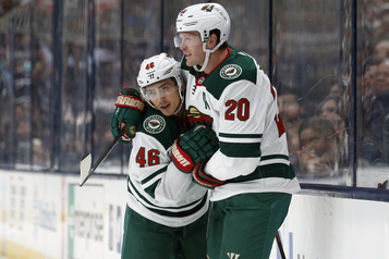 Le Wild blanchit les Blue Jackets 5-0