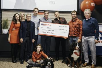 360000$ pour les chiens-guides