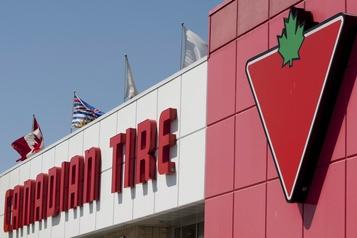 Canadian Tire enregistre une croissance des ventes)