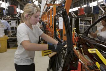 Recul des ventes des fabricants canadiens en novembre