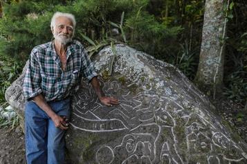Alberto Gutierrez, l'ermite qui sculpte la montagne
