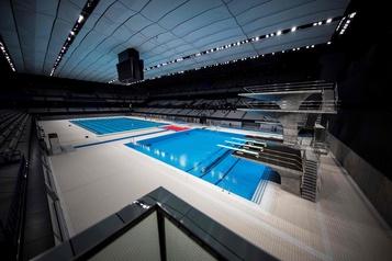 Jeux olympiques2020 Tokyo inaugure un centre aquatique )