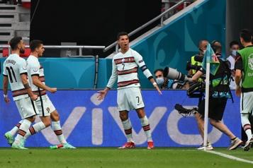 Euro Le Portugal et Ronaldo s'imposent contre la Hongrie)