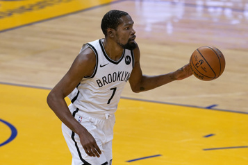 Nets de Brooklyn Une absence prolongée pour Kevin Durant)