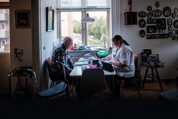 La Presse au Danemark Tout un système pour vieillir chez soi