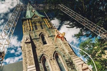 Spectacles en plein air Le Jardin au centre-ville de Montréal)