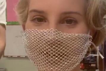 Un masque de Lana del Rey crée la polémique)