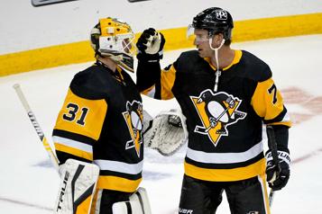 Les Penguins blanchissent les Sabres1-0)