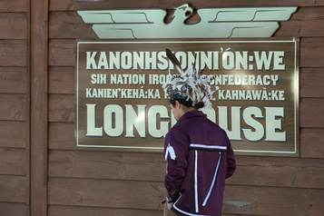 Blocage ferroviaire: les chefs héréditaires à Kahnawake