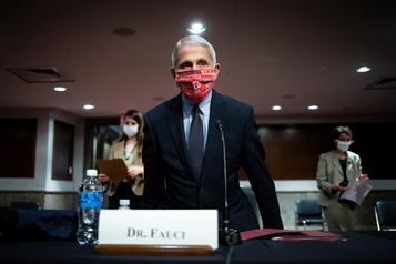 Anthony Fauci: «Nous n'avons pas le contrôle total actuellement»)