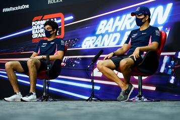 Formule 1 Sergio Perez convoite le volant d'Alexander Albon chez Red Bull)