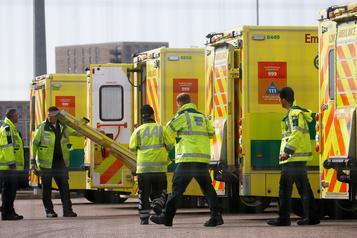 Plus de 500morts en un jour au Royaume-Uni pour la première fois