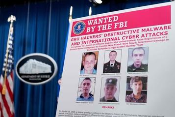 Cyberattaques mondiales Six agents militaires russes accusés aux États-Unis )