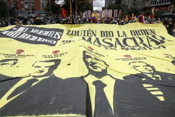 Colombie Des milliers de manifestants à nouveau dans la rue)