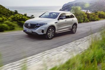 Mercedes-Benz Un avenir incertain pour le VUS électrique EQC auCanada )