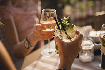 SAQ 5 occasions de goûter des produits sans alcool )