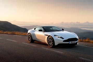 Aston Martin Essai routier Aston MartinDB11 V8 : l'art d'émerveiller)