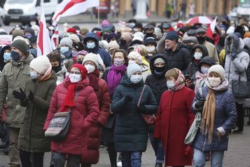 Biélorussie Nouvelle manifestation de l'opposition, qui change de tactique)