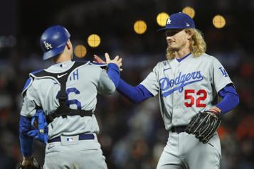 Les Dodgers nivellent la série contre les Giants