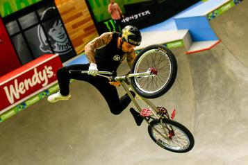 Les adeptes du BMX freestyle impatients de faire leur entrée aux Jeux olympiques
