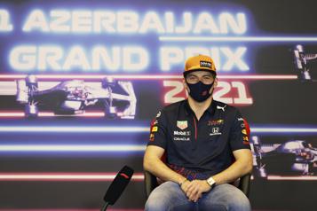 Grand Prix d'Azerbaïdjan Max Verstappen prendra le départ comme numéro 1)