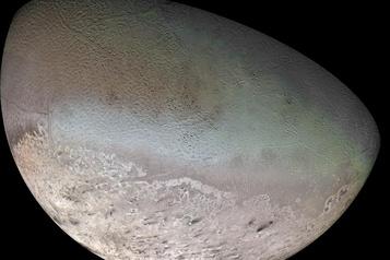 Une sonde sur Triton)
