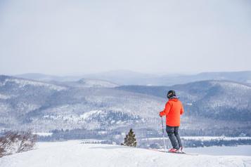 Skier dans Lanaudière sans voiture