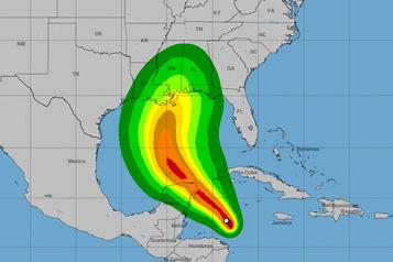 La tempête Zeta devrait se changer en ouragan)