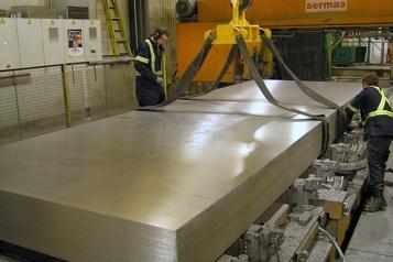 Aluminium  L'industrie veut participer au «survoltage» de l'économie)