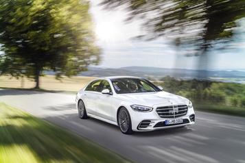 Mercedes-Benz dévoilela nouvelle génération delaClasseS)