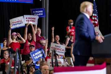 Vers la présidentielle Trump, ou l'art de faire monter les tensions)