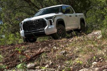 Banc d'essai  Toyota Tundra2022: ambitions mesurées