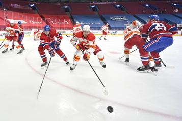 2e période Flames 0 - Canadien 1)