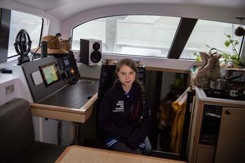 Greta Thunberg a quitté les États-Unis en catamaran pour l'Europe