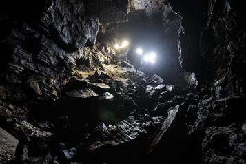 À la découverte des cavernes du Québec)