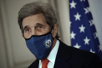 Kerry en Chine pour préparer le sommet sur le climat de Biden)