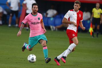 Barcelone: deux buts de Messi lors d'un match hors concours contre Gérone)
