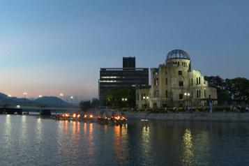 Hiroshima Célébrations pour la paix à la veille du 76e anniversaire de la bombe atomique)