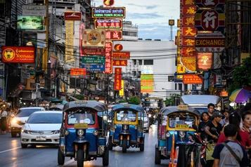 Thaïlande: le tourisme montre des signes d'essoufflement