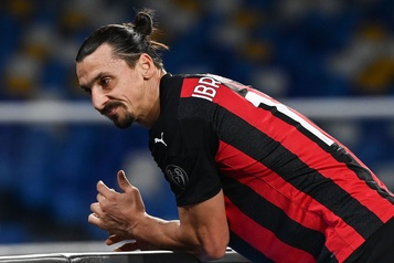 AC Milan Zlatan Ibrahimovic blessé, absent au moins dix jours)