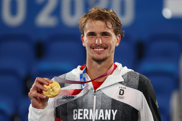 Tennis Alexander Zverev gagne l'or)