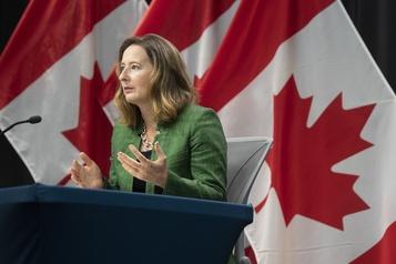 Départ de la numéro2 de la Banque du Canada)