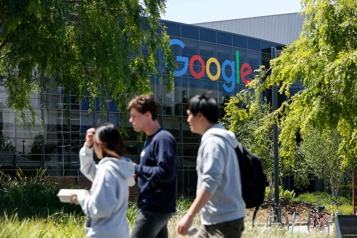 Google conteste une amende de 5milliards US devant la justice de l'UE)